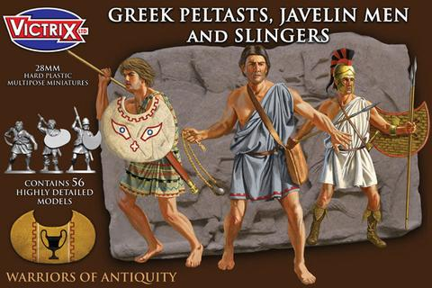 Victrix: Greek Peltasts, Javelin Men and Slingers