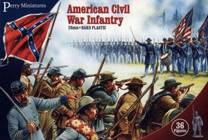 Black Powder American Civil War Plastic Perry Infantry
