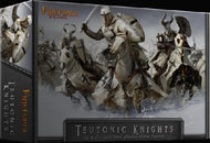 Plastic Teutonic Knights Fireforge Games 12 mounted figures 28mm