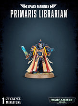 Load image into Gallery viewer, SPACE MARINES PRIMARIS LIBRARIAN