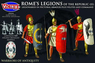Victrix: Rome's Legions of the Republic (II) in pectoral armour plus Velites and Command