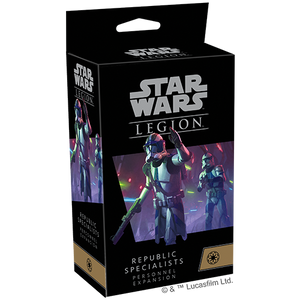 Star Wars Legion: Republic Specialists Personnel Expansions