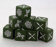 SAGA - Age of Hannibal Barbarian Dice