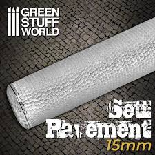 Sett Pavement Rolling pin