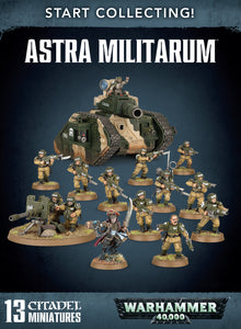 Astra Militarum Start Collecting 40K Warhammer Discount prices Games workshop