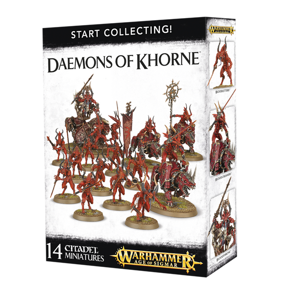 Great value miniatures, Daemons of Khorne, Blood letters, AoS, Bristol Games Workshop