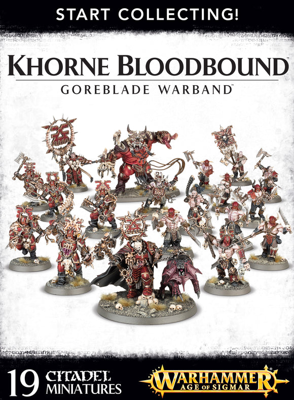 Goreblade Khorne box set miniatures value discount warhammer Aos Bristol