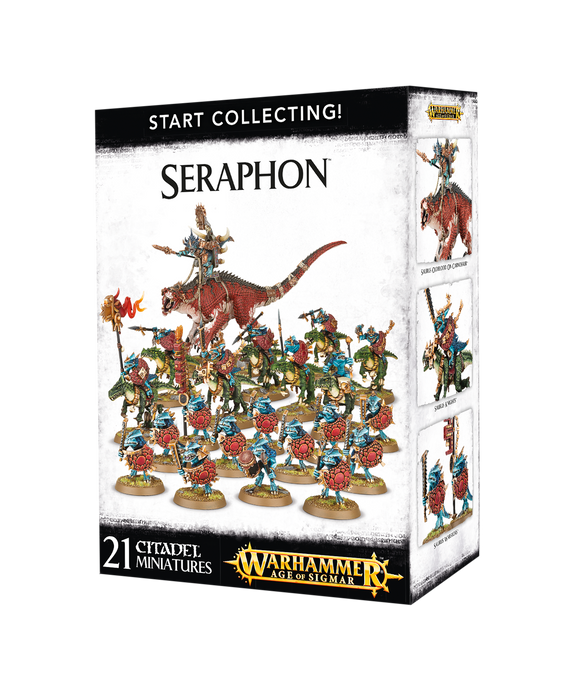 Start Collecting Seraphon Games Workshop AoS discount hobby store Bristol