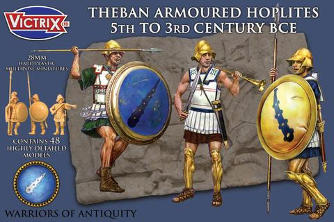 Victrix: Theban Armoured Hoplites 5th to 3rd Century BCE