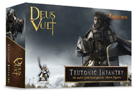 Teutonic Infantry Deus Vult 60mm x 40mmbases 20mm x 20mm