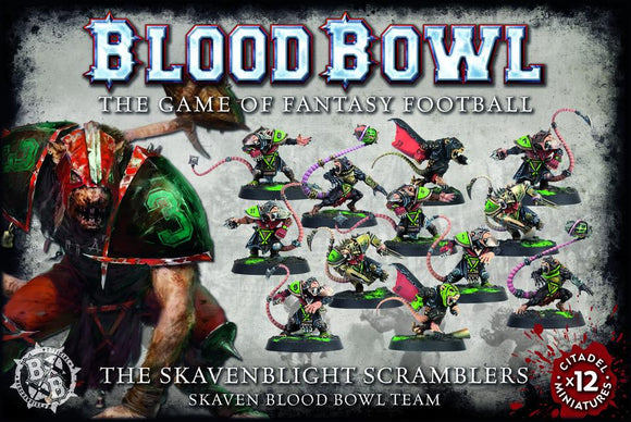 Games Workshop The Skavenblight Scramblers: Skaven Blood Bowl Team