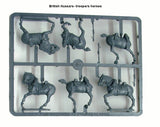 Cavalry Horses Hussars Napoleonic British German Hanoverian Waterloo