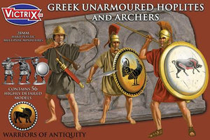 Victrix: Greek Unarmoured Hoplites and archers