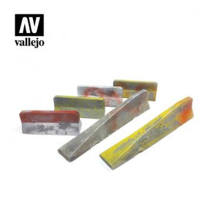 Vallejo Scenics - 1:35 Urban Concrete Barriers