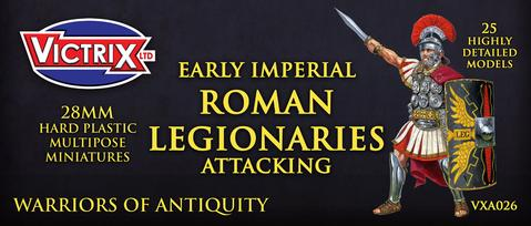 Victrix: Early Imperial Roman Legionaries Attacking