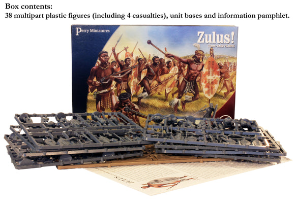 Zulu Warriors Historical plastics miniatures men-who-would-be-king