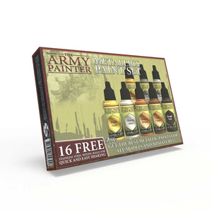 Army Painter Metallics Paint Set