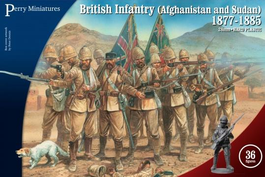 Perry Miniatures- 28mm Plastic-British Infantry Afghanistan and Sudan 1877-85