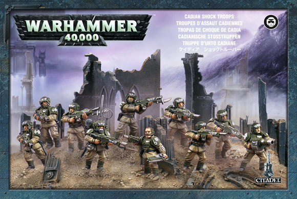 Cadian Shock Troops/ Infantry Squad
