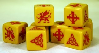 Welsh Saga Dice