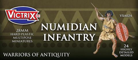 Numidian Infantry Miniatures plastic 28mm