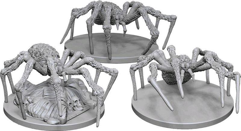 Spiders : D&D Nolzur's Marvelous Unpainted Miniatures