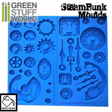 Steampunk Texture Silicone mould