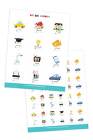 Bill Due Planner Stickers (2 Pages)