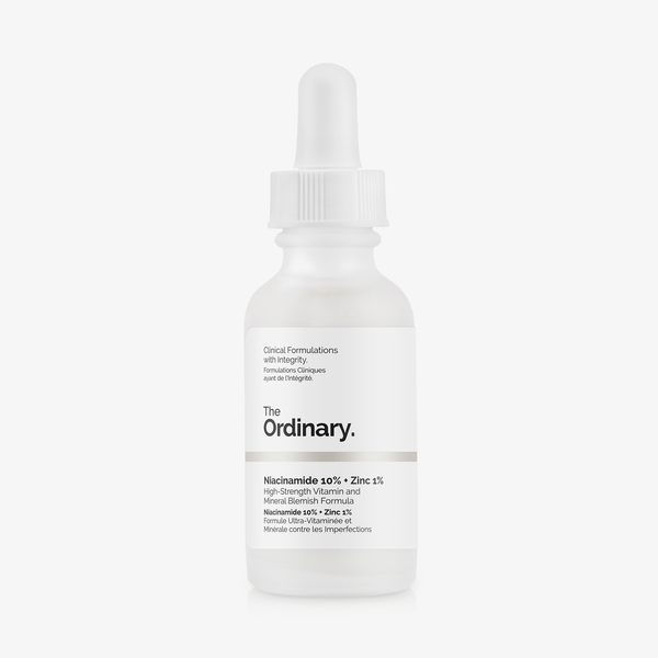 The Ordinary - Niacinamide 10% + Zinc 1% 30ml acne treatment