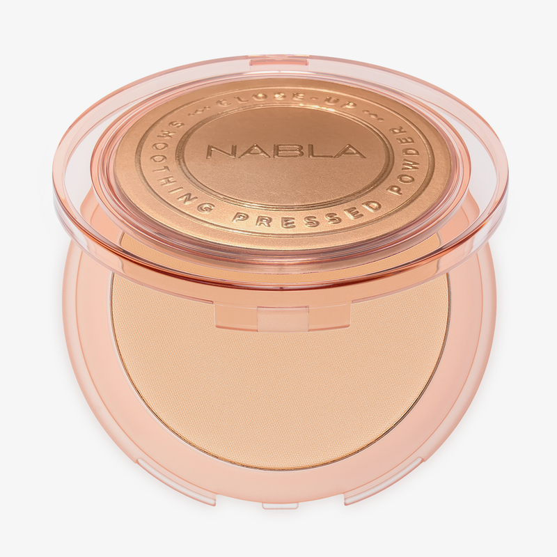 Nabla Cosmetics - Medium CloseUp Smoothing Pressed Powder Puder