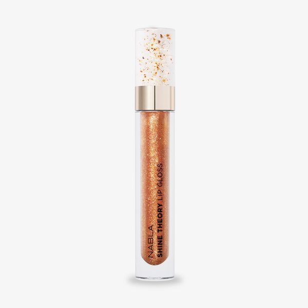 Nabla Cosmetics | Miami Lights Collection Shine Theory Lip Gloss Champagne Supernova