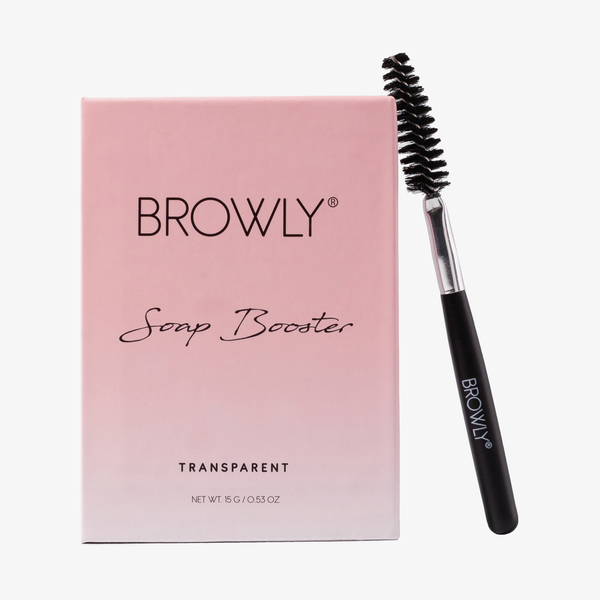 BROWLY | Soap Booster Transparent