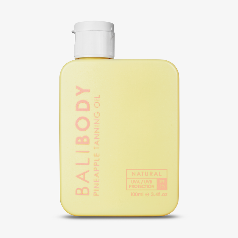 Bali Body | Tanning Oil SPF 15 Pineapple