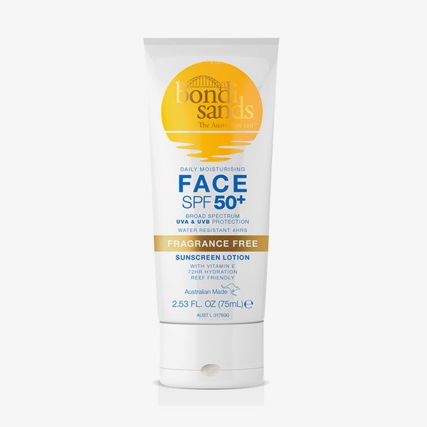 SPF 50+ Face Lotion Fragance Free