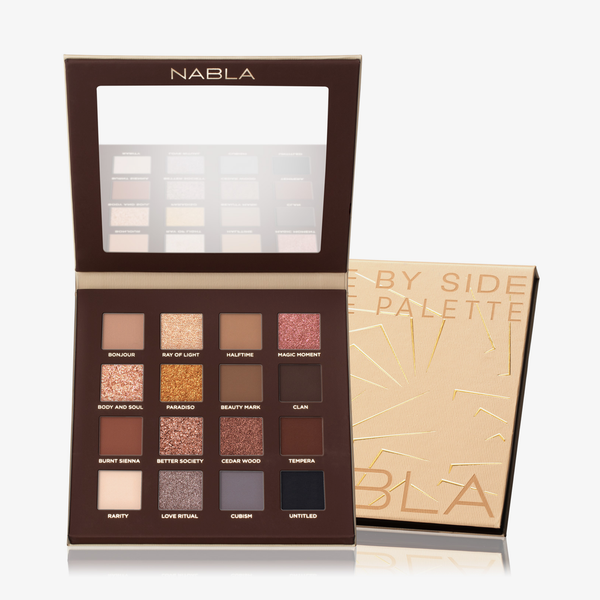 Nabla Cosmetics | Side By Side Nude Palette