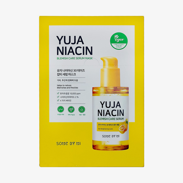 Some By Mi | Yuja Niacin Blemish Serum Mask