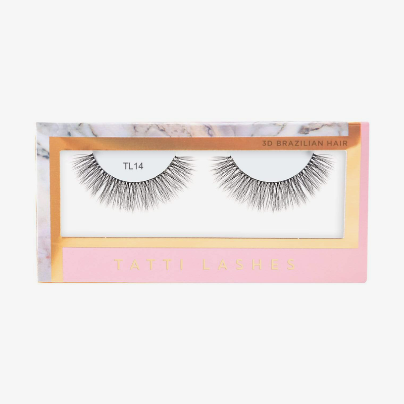 Tatti Lashes | 3D Brazilian Silk Lashes TL14