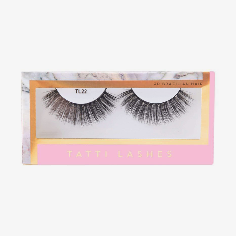 Tatti Lashes | 3D Brazilian Silk Lashes TL22