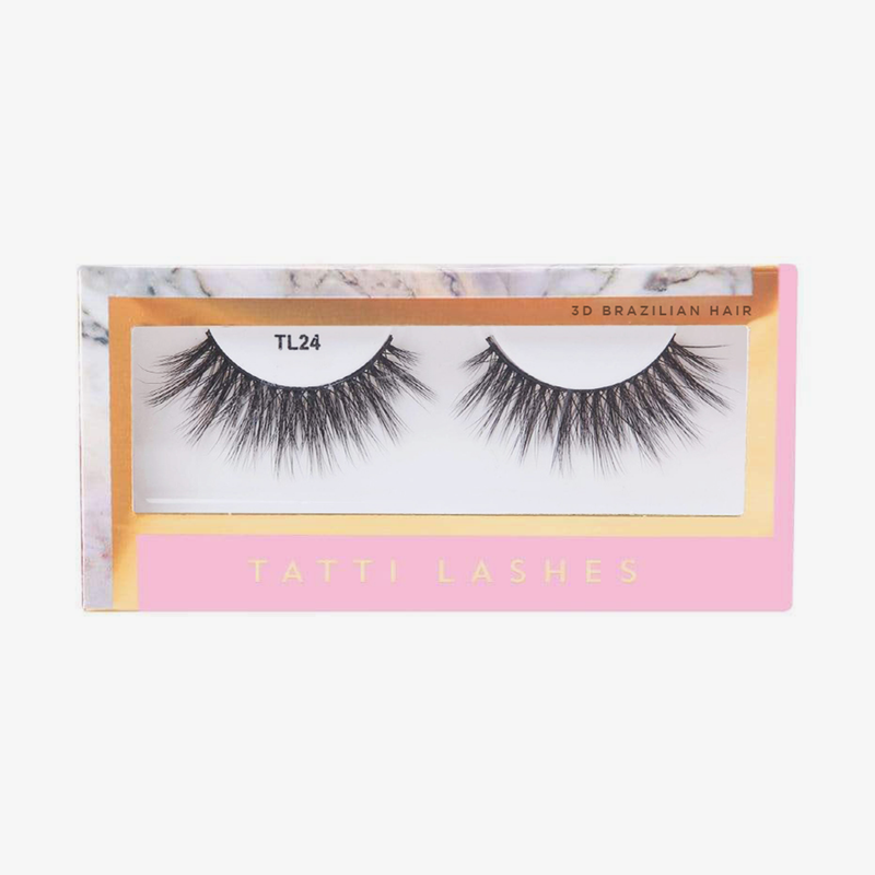 Tatti Lashes | 3D Brazilian Silk Lashes TL24