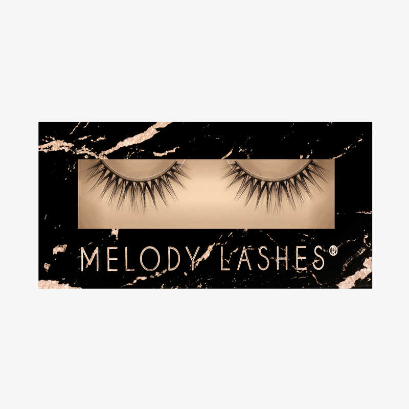 Melody Lashes - Rose Synthy Collection Lashes Künstliche Wimpern