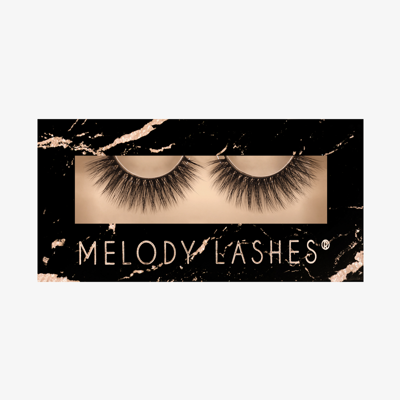 Melody Lashes - Ella Synthy Collection Lashes Künstliche Wimpern