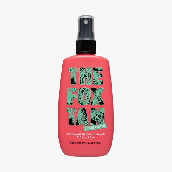 The Fox Tan - Rapid Watermelon Shimmer 120ml tanning products