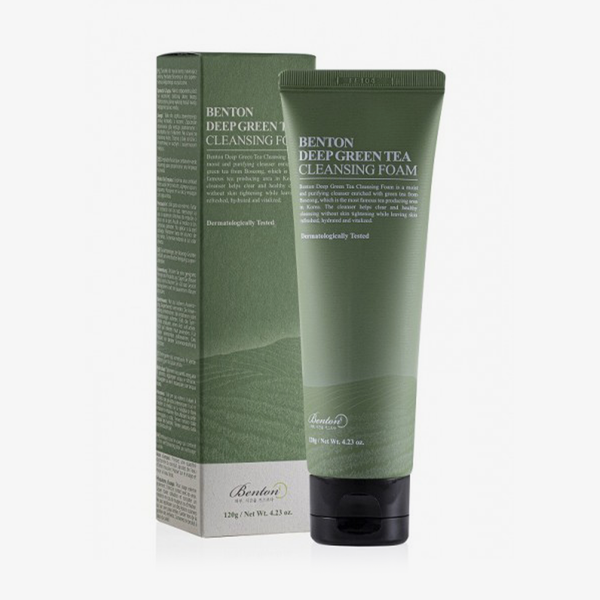 Benton | Deep Green Tea Cleansing Foam