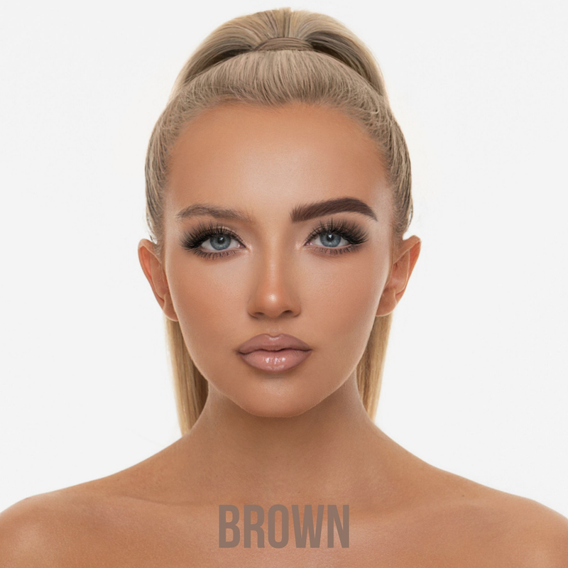 BPerfect Cosmetics | Indestruci'Brow Lock and Load Eye Brow Set Brown