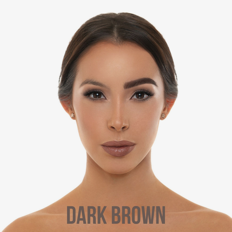 BPerfect Cosmetics | Indestruci'Brow Lock and Load Eye Brow Set Dark Brown