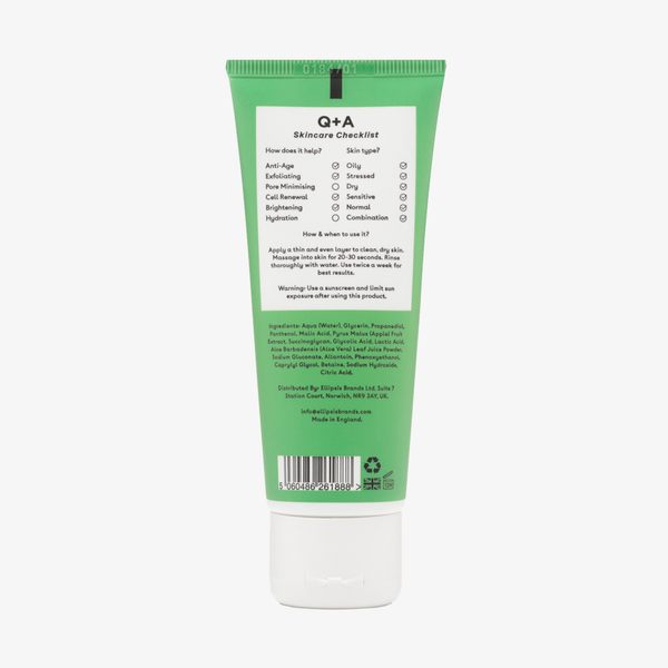 Q + A Skin | Apple AHA Exfoliating Gel
