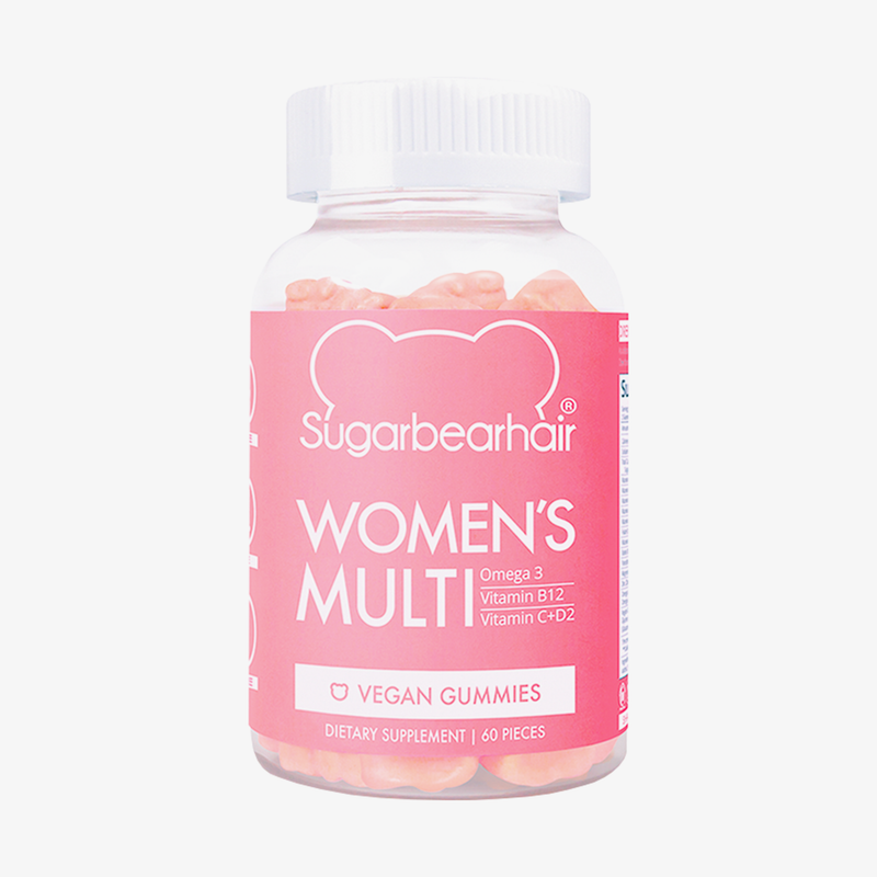 SugarBearHair® - Sugarbearhair Womens Multi Vegan Mulitvitamin 1 Month Vitamine