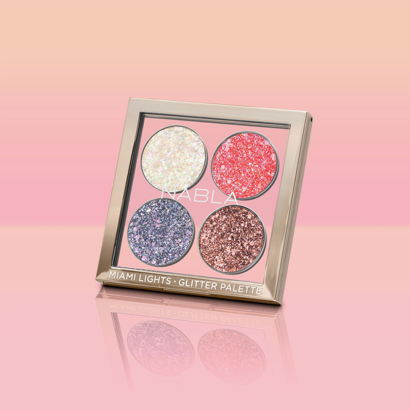 Nabla Cosmetics | Miami Lights Glitter Palette