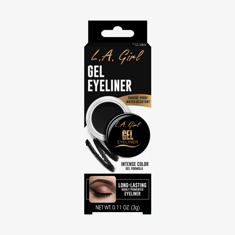 LA Girl | Gel Eyeliner Jet Black