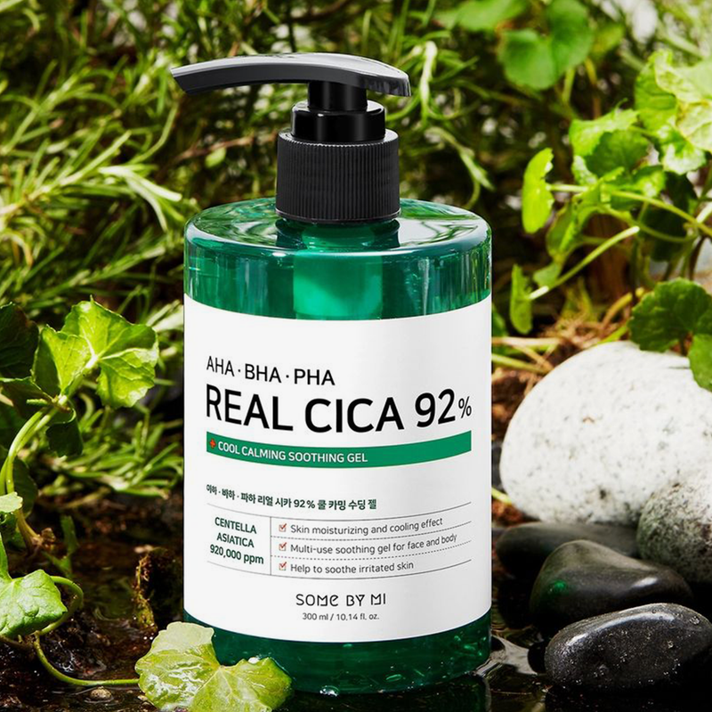 Some By Mi | AHA-BHA-PHA Real Cica 92% Cool Calming Soothing Gel